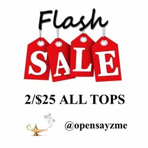 2/$25 Tops Over 200 Options!! New & Gently Used